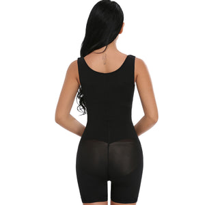 Miss LINDA Fajas Colombianas Post-Surgery Full Body Shaper Body Suit Powernet Girdle Hot Shapers Waist Cincher Trainer Shapewear