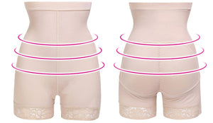 Lace Butt Lifter Women High Waist Trainer