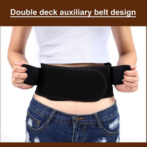 Pain Massager Infrared Magnetic Back Brace Support Adjustable Posture Belt