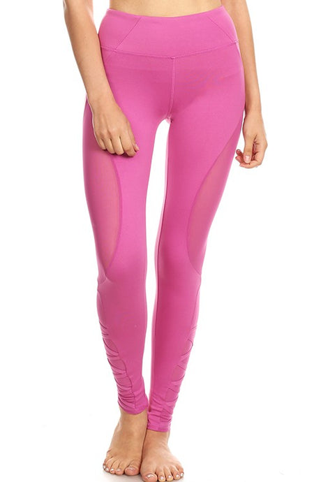 Women Yoga Capri with 4 Way Stretch
