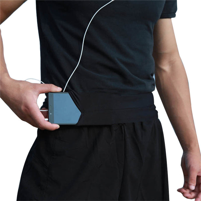Men and Woman Running Phone Bag Pouch Jogging Belt.