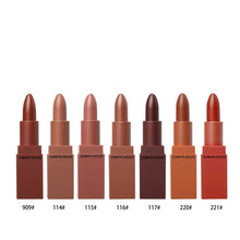 Matte Lipstick Waterproof, Easy To Carry Matte Lipsticks 5 Colors In Set