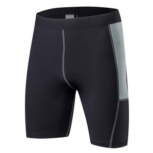 Men Running Short Sport Legging Quick Dry Compression Tight