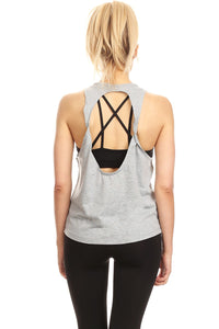 Women's Sleeveless Graphic Tank Top