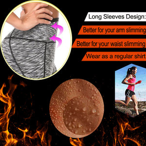 Women Running Pants Keep Sweat Sauna Neoprene Sports Pant.