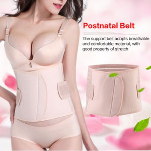 Postpartum Recovery Band,Breathable Postnatal Bandage Waist Belly Recovery Slimming Band Shaper Slimer Wrapper for Post Pregnancy Women(M)