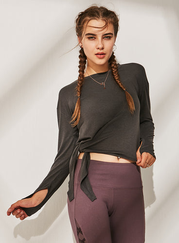Downward Dog Side-Knot Crop Top (3 Colours)