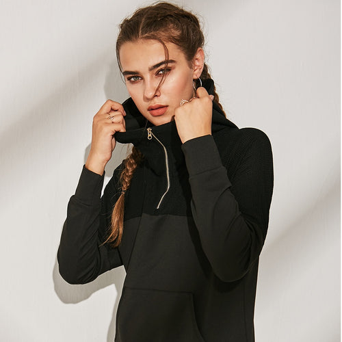 Downward Dog Lightweight Turtleneck Jacket (2 Colours)