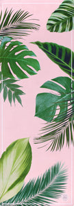 Botanical Garden Pink Yoga Mat by Grounded Factory Sweden