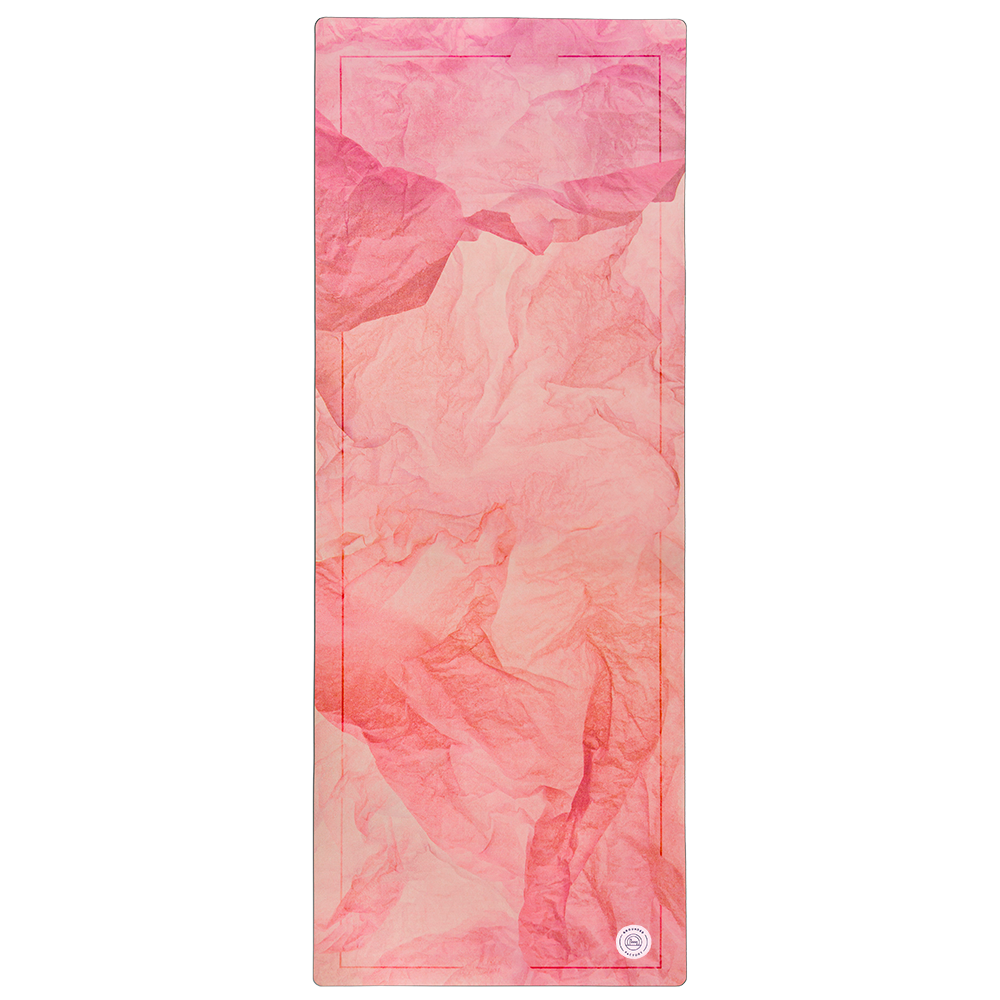 Stone Warm Pink Yoga Mat by Grounded Factory Sweden