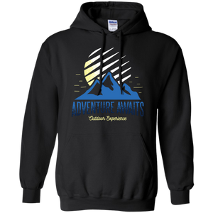 Adventure Awaits Pullover Hoodie - Giving Gecko Giving Back To Animal Rescue Charities