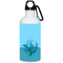 Climate Change Iceberg Reusable Water Bottle Water Bottles - Giving Gecko Giving Back To Animal Rescue Charities