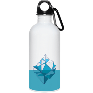 Climate Change Iceberg Reusable Water Bottle - Giving Gecko Giving Back To Animal Rescue Charities