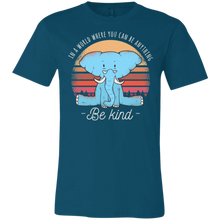 Be Kind Elephant T-Shirts - Giving Gecko Giving Back To Animal Rescue Charities