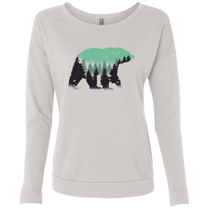 Bear Forest Long Sleeve Sweatshirt - Giving Gecko Giving Back To Animal Rescue Charities