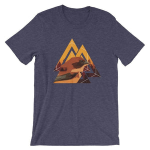 Cool Urban Abstract Graphic Bird T-Shirts - Giving Gecko Giving Back To Animal Rescue Charities