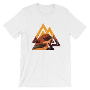 Urban Abstract Graphic Bird T-Shirt T-Shirts - Giving Gecko Giving Back To Animal Rescue Charities