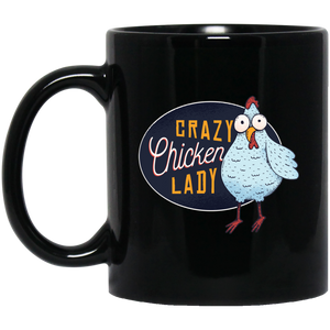 Crazy Chicken Lady Mug Mugs - Giving Gecko Giving Back To Animal Rescue Charities