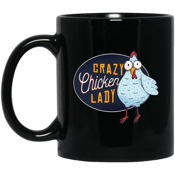 Crazy Chicken Lady Mug - Giving Gecko Giving Back To Animal Rescue Charities