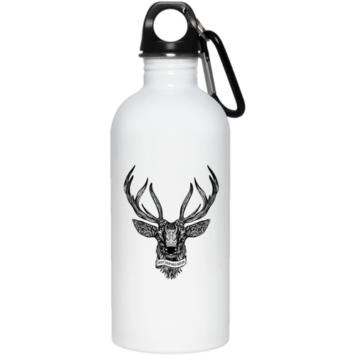 Enjoy Your Wild Nature Deer 20 oz. Stainless Steel Water Bottle - Giving Gecko Giving Back To Animal Rescue Charities