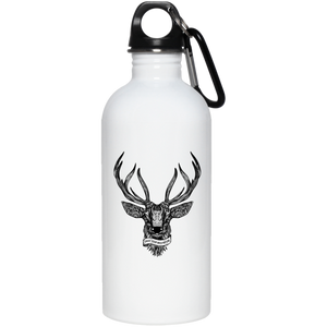 Enjoy Your Wild Nature Reusable Water Bottle - Giving Gecko Giving Back To Animal Rescue Charities