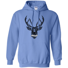 Enjoy Your Wild Nature Deer Pullover Hoodie Hoodies - Giving Gecko Giving Back To Animal Rescue Charities