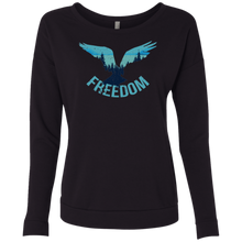 Freedom Eagle Wilderness Sweatshirt Long Sleeves - Giving Gecko Giving Back To Animal Rescue Charities
