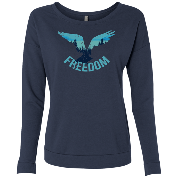 Freedom Eagle Wilderness Sweatshirt - Giving Gecko Giving Back To Animal Rescue Charities