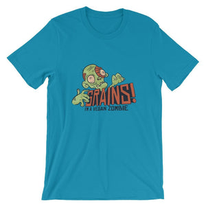 I'm A Vegan Zombie T-Shirt T-Shirts - Giving Gecko Giving Back To Animal Rescue Charities