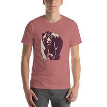 Large Wild Grizzly Bear T-Shirt T-Shirts - Giving Gecko Giving Back To Animal Rescue Charities