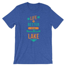 Life Is Better At The Lake Outdoors T-Shirts - Giving Gecko Giving Back To Animal Rescue Charities