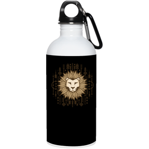 Lion Reusable Water Bottle Water Bottles - Giving Gecko Giving Back To Animal Rescue Charities