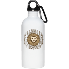 Lion 20 oz. Stainless Steel Water Bottle - Giving Gecko Giving Back To Animal Rescue Charities