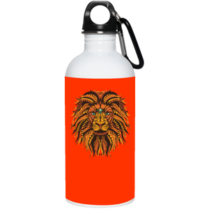 Save Lions Big Cat Reusable Water Bottle Water Bottles - Giving Gecko Giving Back To Animal Rescue Charities