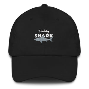 Daddy Shark Embroidered Hat Hats - Giving Gecko Giving Back To Animal Rescue Charities