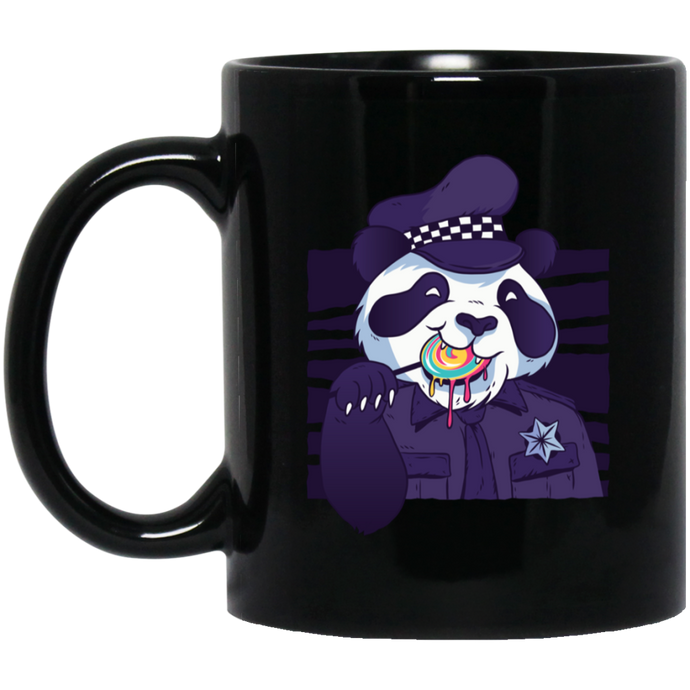 Panda Police Officer Mug Mugs - Giving Gecko Giving Back To Animal Rescue Charities