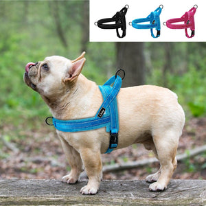 Dog Harness - No Pull Soft Padded Reflective Pitbull French Bulldog