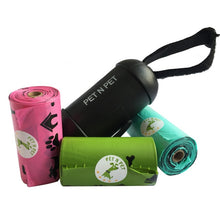 Eco-Friendly Dog Bags (3 Rolls + Dispenser) Pets - Giving Gecko Giving Back To Animal Rescue Charities
