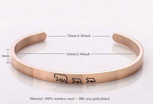 Mother Bear & Cubs Bracelets