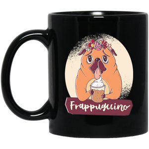 Pug Frappuccino Dog Mug Mugs - Giving Gecko Giving Back To Animal Rescue Charities