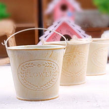 Retro Style Wood Plant Pots - Giving Gecko Giving Back To Animal Rescue Charities