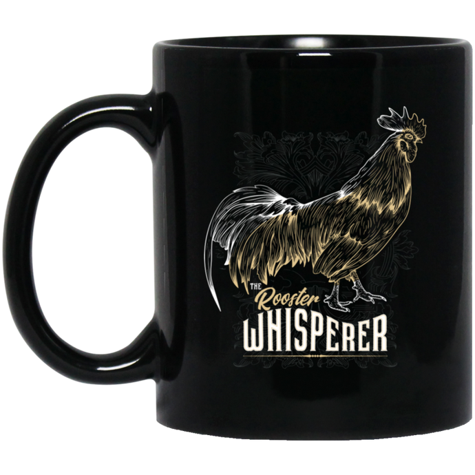 Rooster Whisperer Mug - Giving Gecko Giving Back To Animal Rescue Charities