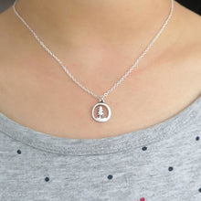 Singular Forest Pine Tree Necklace Necklaces - Giving Gecko Giving Back To Animal Rescue Charities