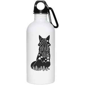Step Inside The Nature Reusable Water Bottle Water Bottles - Giving Gecko Giving Back To Animal Rescue Charities