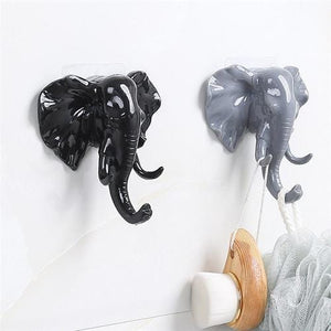 Strong Sticky Elephant Storage Hanger - Giving Gecko Giving Back To Animal Rescue Charities
