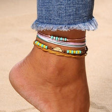 Tropical Summer Fruit Beach Anklet Anklets - Giving Gecko Giving Back To Animal Rescue Charities