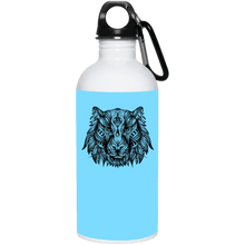 Wolf 20 oz. Stainless Steel Water Bottle - Giving Gecko Giving Back To Animal Rescue Charities