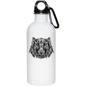 Wolf Reusable Water Bottle Water Bottles - Giving Gecko Giving Back To Animal Rescue Charities