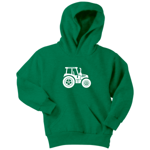 Youth Unisex Tractor Hoodie