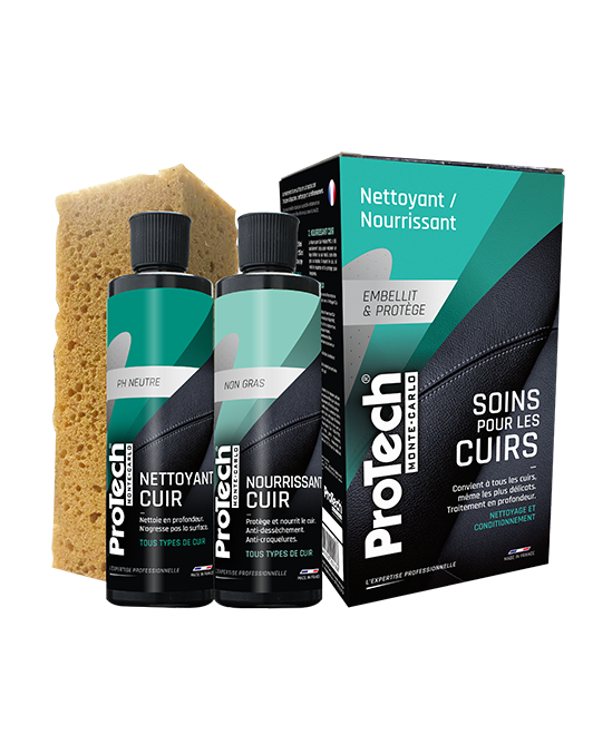 Lot soins cuirs ProTech® Monte-Carlo